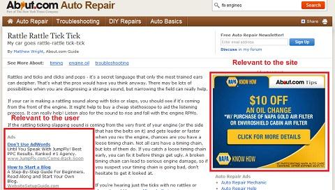 auto repair ad