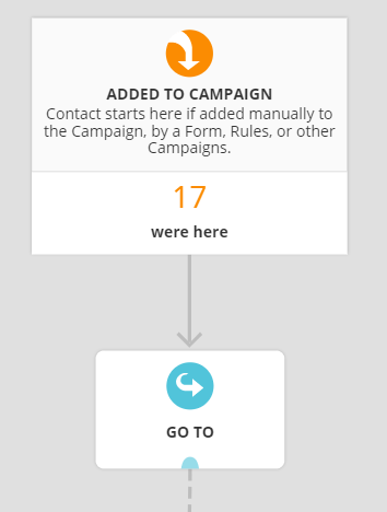 adding contacts to campaign