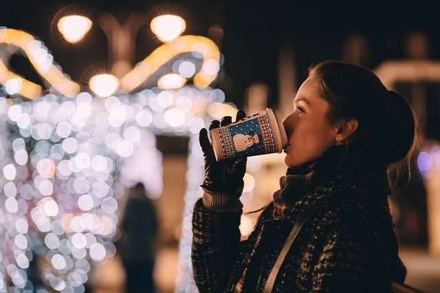 Christmas coffee dring