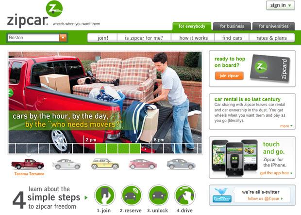 zipcar website